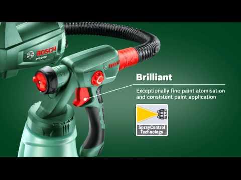 Bosch PFS 1000 Fine Spray System