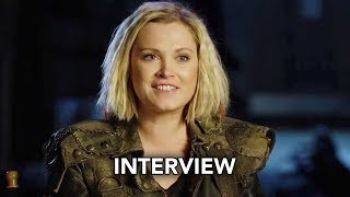 The 100 Season 5 - Eliza Taylor Interview (HD)