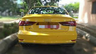 AUDI A3 Speed test under city road in Mangalore...India