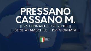 Serie A1M [15^]: Pressano - Cassano Magnago 26-25