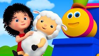 Bob The Train | mary had a little lamb | nursery rhyme song | childrens song | Bob Cartoons Kids Tv
