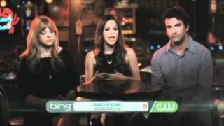 Rachel Bilson interview w/ Josh Schwartz and Stephanie Savage