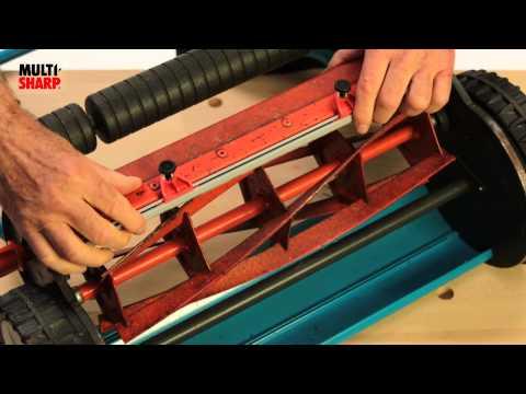 Multi-Sharp® Cylinder Mower Sharpener