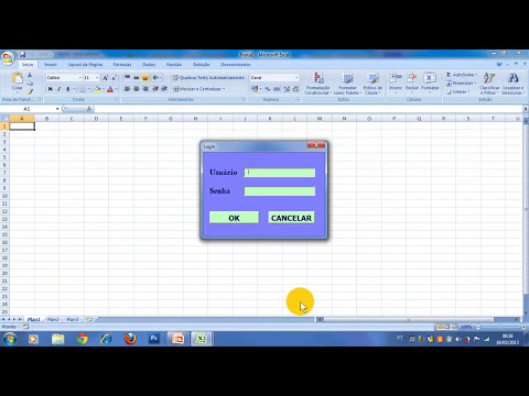 Excel Avançado - Criar um cadastro de clientes - aula 1