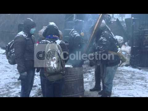 UKRAINE: THREE PROTESTERS DIED IN CLASHES