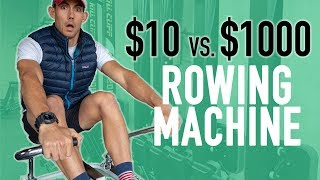 $10 vs $1000 Rowing Machine Review