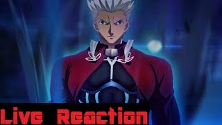 Fate/Stay Night: Unlimited Blade Works Episode 0 Live Reaction