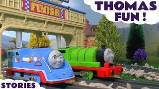 Thomas and Friends Toy Trains Fun and Games Episodes with Paw Patrol and Minions ToyTrains4u