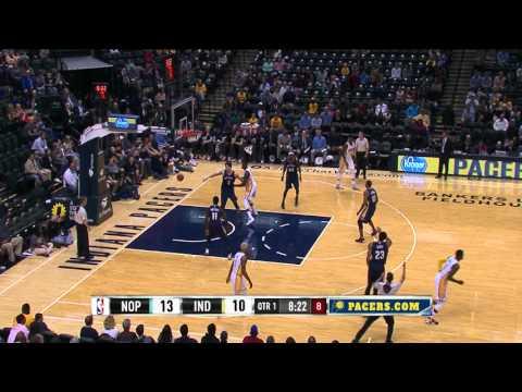 Paul George Returns for the NBA Preseason Against the Pelicans
