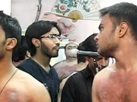 HADI MUSVI (Grohe Abulfazlil abbas 2011)  azadari in Hyderabad Deccan India @ Agha Shaida
