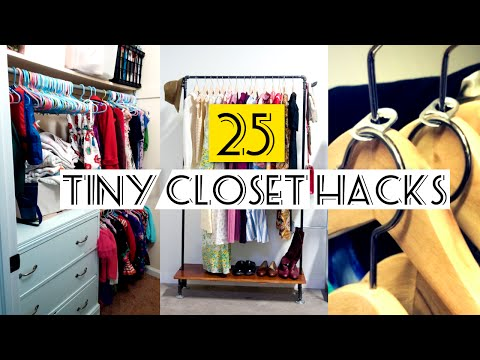 25 Organizing Small Closet ideas