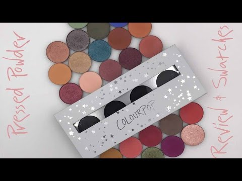 ColourPop Pressed Powders Review & Swatches