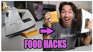 We Tested Viral 5 Minute FOOD HACKS.... (and this is what happened...)