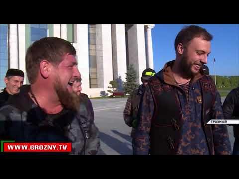 Рамзан Кадыров встретился с байкерами Всероссийкого мотоклуба «Ночные волки»
