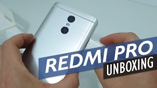 Xiaomi Redmi Pro Unboxing and First Look (Helio X25 Version)