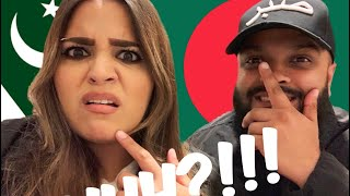 Speaking to my *PAKISTANI WIFE* in *BANGLA* for a day !!!