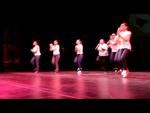 A youth step team that performed for the 3rd Annual Momma's Hip Hop Kitchen. It was hosted at Hostos Community College in the Bronx.