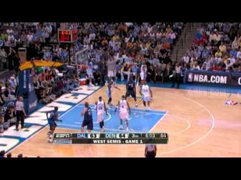 Dallas Mavericks - Denver Nuggets. Semifinals / Game 1 (DEN leads 1-0) [HQ]
