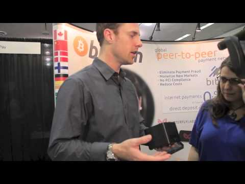 Butterfly Labs shows their ASIC minner at BItcoin 2013