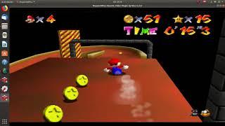 Super Mario 64-Estrella 16-El Tobogán De La Torre-Torre de la Princesa