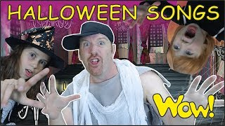 Halloween Party Songs for Kids NEW from Steve and Maggie | Halloween 2017 from Wow English TV