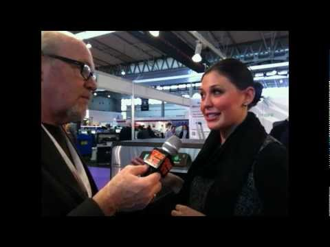 Scott Fresener Interviews Anajet at Fespa Barcelona