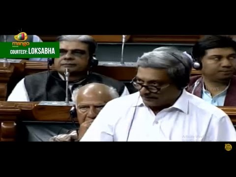Manohar Parrikar Speech In Parliament Over Indian Troops In Siachen Glacier | Mango News