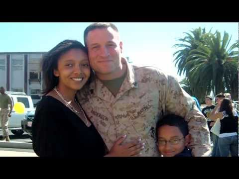 Welcome Home, Michael: a Dad, a Husband, and a Marine—Happy Holidays