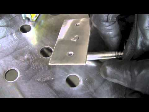 MAKING A CUSTOM STAINLESS STEEL PART USING A TIG WELDER AND PUNCH