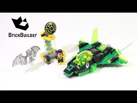 Lego Super Heroes 76025 Green Lantern vs. Sinestro - Lego Speed Build