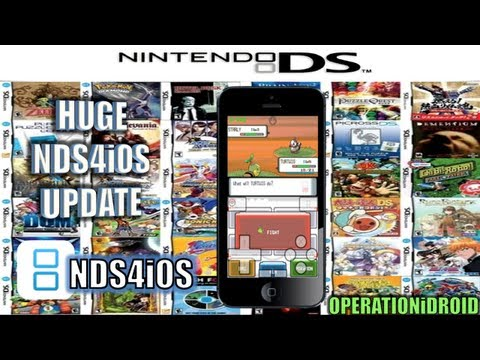 NDS4iOS: Huge Update ! Sound Added. Frame Skip. New UI & Much More