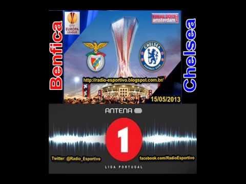Benfica 1 x 2 Chelsea - Narração: Hélder Conduto e Nuno Matos (Antena 1) Liga Europa - Final 2013
