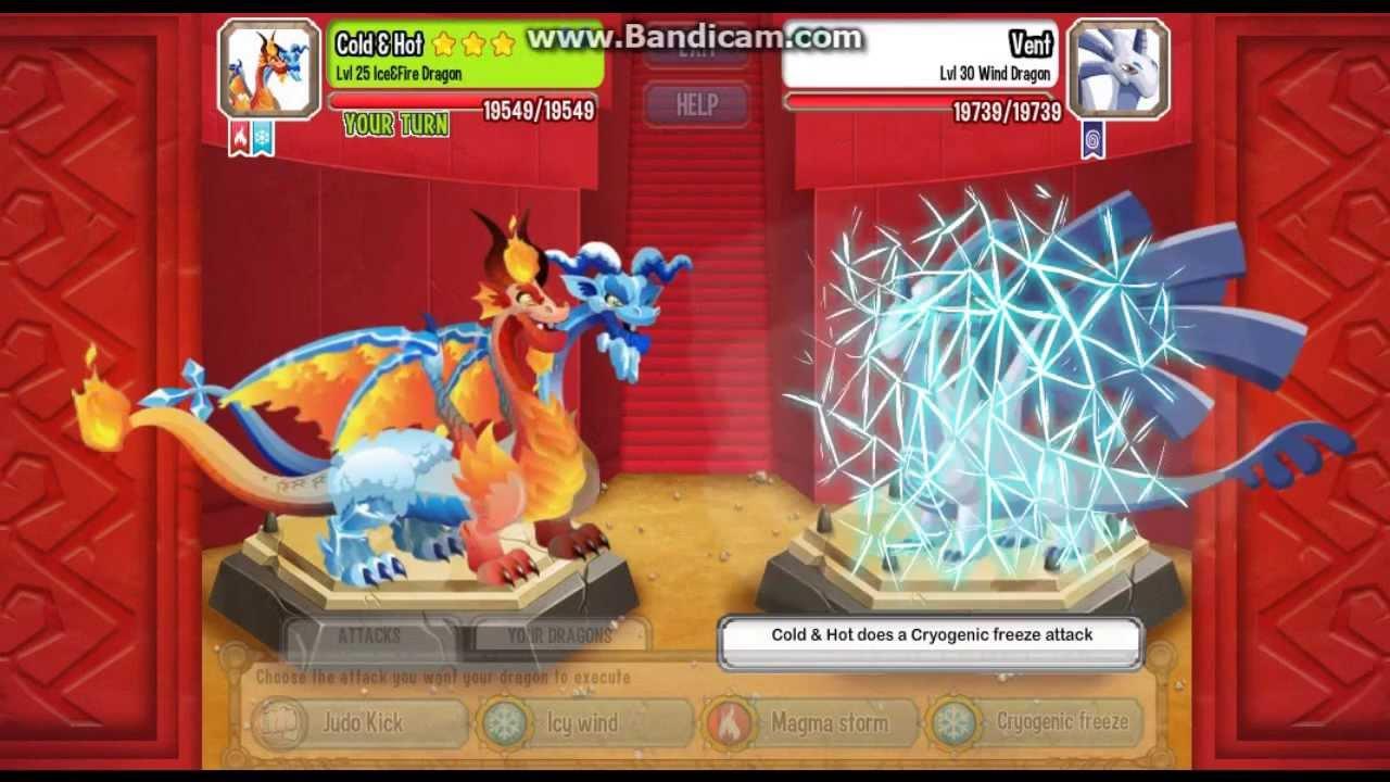 Ice Fire Dragon Dragon City Ice&fire Dragon