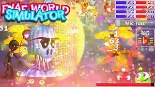 FINAL BATTLE W/ FREDDY IS INSANE!! | FNAF World Simulator ENDING