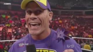 John Cena Raps on The Rock!