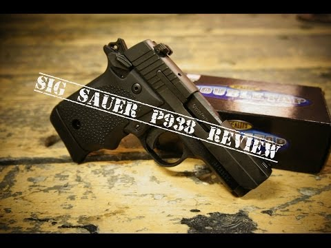 Sig Sauer P938: 90 Second Gun Reviews
