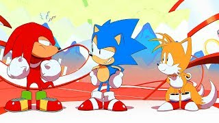 SONIC MANIA - Opening Cinematic @ 1080p HD ✔