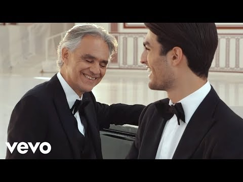 Andrea Bocelli - Fall on Me (Making Of)