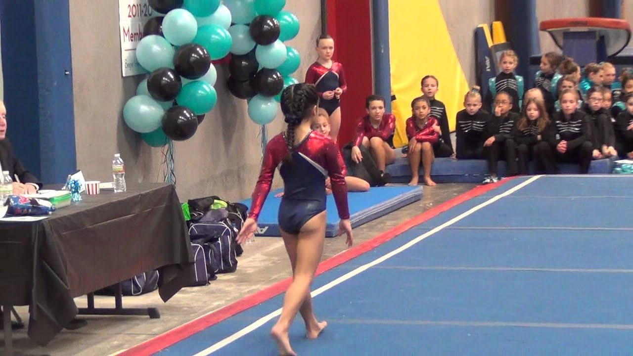 Level 7 Floor Routine Cielo 9 325 Feb 2 1013 Youtube