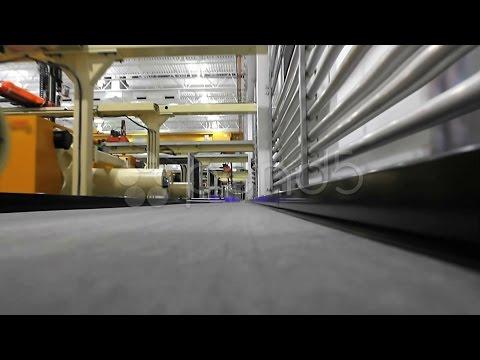 Factory Conveyor Belt 2. Stock Footage