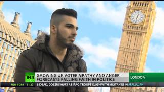 Lost Youth, UK voters back away from ballot box, losing faith in mainstream politics  2/2/14