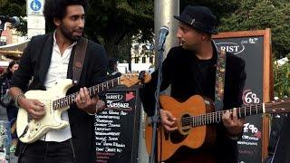 Street music- Didi and Issem- Aisha (Hackescher Markt, Berlin)