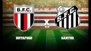 🔥Santos x Botafogo-Sp Ao Vivo - Paulistão 2018   2º Jogo Quartas de Final