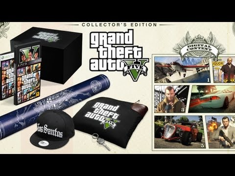 Grand Theft Auto V Collectors and Special Edition!