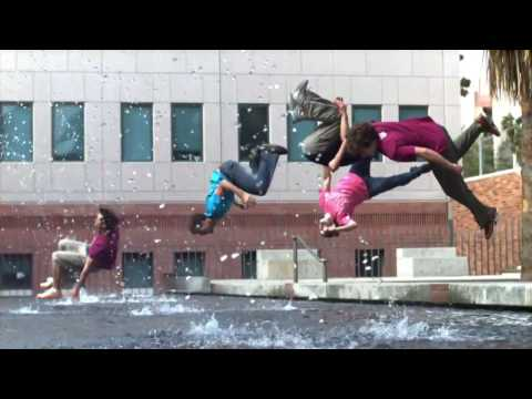 Ultra Slow Motion Freerunning 1,000 frames per second