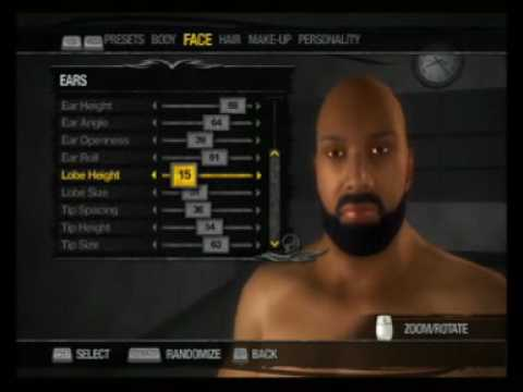 Saints Row 2 Characters: Bun B Creation (UGK Creation Pt. 2) Video