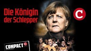 """""""Schlepper-Königin Merkel""""  COMPACT 10/2015:"""