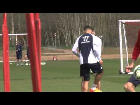 Peter Odemwingie Returns To Full Training