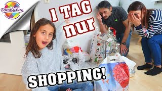 1 TAG LANG SHOPPING CHAOS! - Verrückte  WEIHNACHTSROOMTOUR - Family Fun