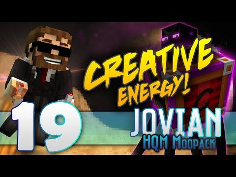 """Minecraft - """"JOVIAN""""- FTB -HQM MOD PACK- """"HOW TO GET A CREATIVE ENERGY CELL!"""" - EP19"""